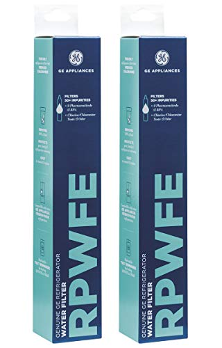 GE JZHGARGX Refrigerator Water Filter, 2 Pack