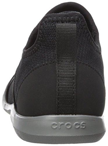 Crocs - Frauen Swiftwater Cross-Strap Static Clog Schuhe Black