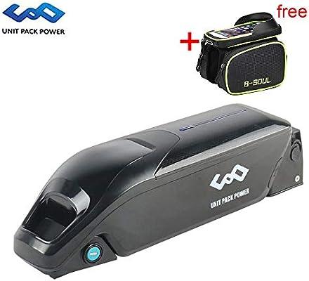 uppcycle Batería de Litio para Bicicletas eléctricas, 36V 10.4AH ...