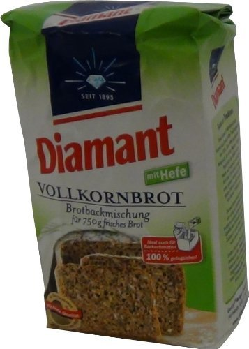Diamant Vollkornbrot Brotbackmischung 500g
