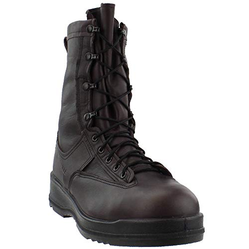 Belleville 330ST Men's 8-in WP ST EH Flight Tactical Boot Chocolate Brown 12.5 M US ()