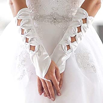 Lace Gloves Bridal Gloves Prom Evening Wedding Dress Accessories For Party