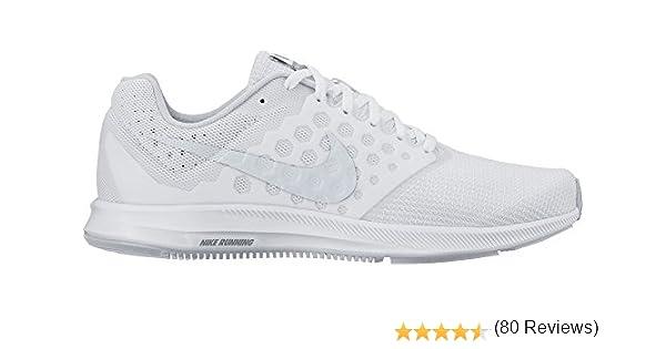 Nike Wmns Downshifter 7, Zapatillas de Running para Mujer, Blanco ...