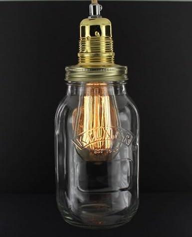 Para tarros de mermelada casera lámpara de Kilner Diseño ...
