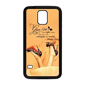 Nymeria 19 Customized Give A Girl The Right Shoes Diy Design For Samsung Galaxy S5 Hard Back Cover Case DE-266 hjbrhga1544