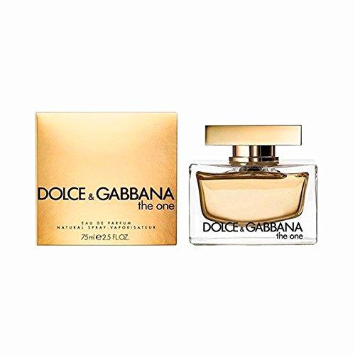 PERFUME POUR FEMME DOLCE E GABBANA D&G THE ONE FOR WOMAN 75 ML EDP 2, 5 OZ 75ML EAU DE PARFUM SPRAY 100% ORIGINAL