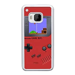 HTC One M9 Cell Phone Case White Game boy Super Mario Bros AS7YD3572686