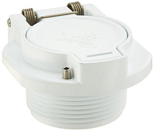 Custom Molded Products 25505-000-000 Vacuum Lock, 1.5-Inch, White