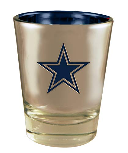 (The Memory Company Dallas Cowboys ELECTROPLATED Shot)