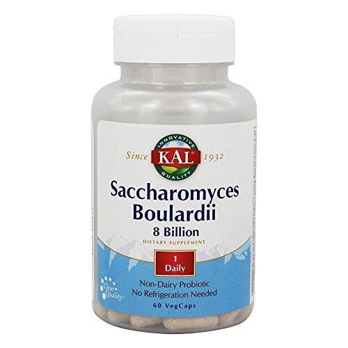Kal Saccharomyces Boulardii Capsules, 60 Count
