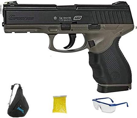 ASG SPORT 106 DT DUOTONE. Pistola de Airsoft Calibre 6mm (Arma Aire Suave de Bolas de plástico o PVC). Sistema: Muelle. <3,5J