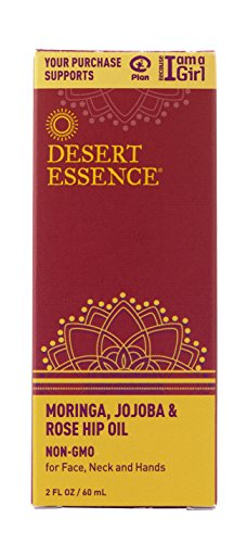 Desert Essence Moringa,Jojoba & Rosehip Oil 2fl - Desert Cream Face Essence