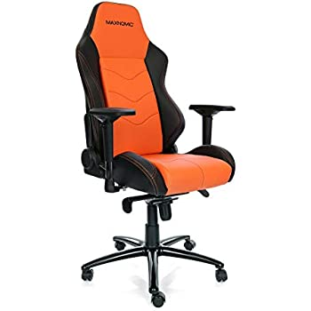 MAXNOMIC Dominator (Orange) Premium Gaming Office & Esports Chair