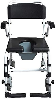 MMPY Multifunktionale Toilettenstuhl, wasserdicht und Nicht Rostig, Kann verwendet Werden, der als Badewanne Stuhl, Faltbare Toilette Stuhl, Platz sparen