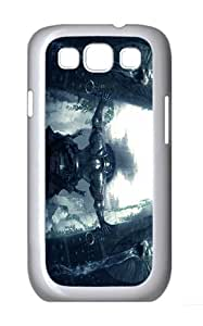 ICORER Funny Samsung Galaxy S3 Case Warrior Case Cover for Samsung Galaxy S3 PC White