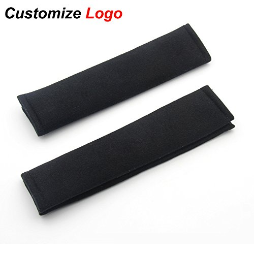 2X Car Styling Accessories Seat Belt Shoulder Pad Truck Cushion Cover- A Must Have for All Car Owners for a More Comfortable Driving-For Honda Toyota VW Mini Audi Kia BMW Mazada With LOGO