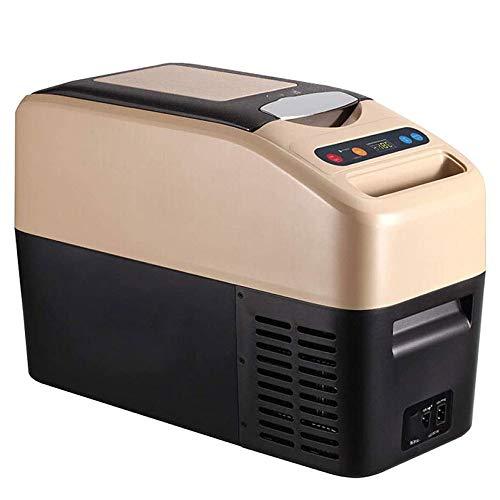 Mini Fridge,Car Fridge, Car Refrigerator Compressor, Fridge Cooler and Warmer, Portable Car Freezer Cooler Heater Compressor 12V / 24V Refrigerating Camping Compact Car Refrigerator Outdoor Fridge