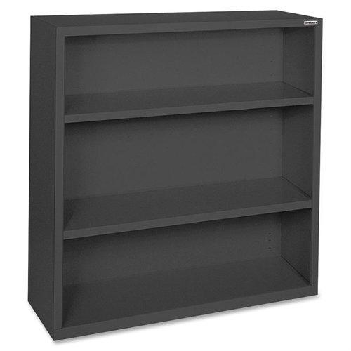 Series 4 Shelf Bookcase (Lorell LLR41285 Fortress Series Steel Book Case, Black)
