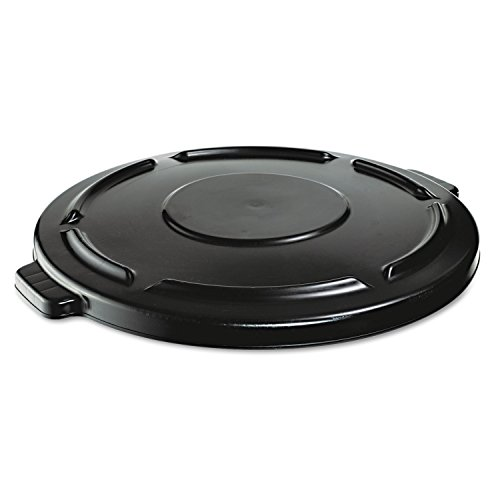 RCP264560BLA - Rubbermaid Brute Vented Lid for 44 Gallon Round Container 2643, Black