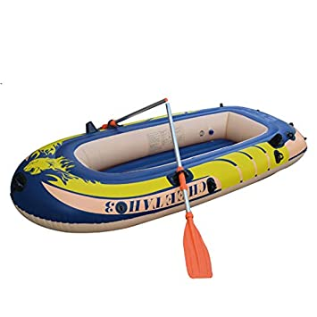 Amazon.com: Juego de kayak inflable, canoa río raft paleta ...