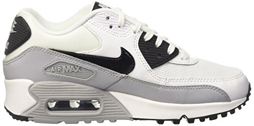 Grey Blanc Basses Wolf Max 90 Essential Sneakers Femme NIKE Air Cassé White Black Fqp0w74cR
