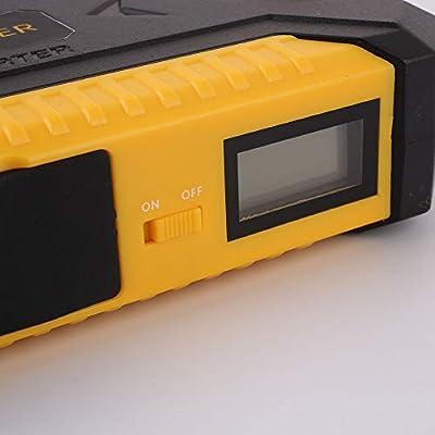 Portable Car Jump Starter, Car 10000MAh 600A US/EU/UK/AU Plug Emergency Battery with Storage Bag