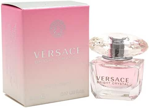 Versace Bright Crystal Mini Eau De Toilette for Women, 0.17-Ounce