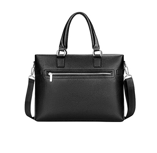 Shoulder Bag Computer Bag Briefcase Men's Business Bag Cross Section Of The Occasional Black