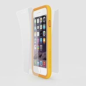Pack Rhino Shield Crash Guard - bumper Jaune - et protection écran pour Iphone 6 plus/6S Plus