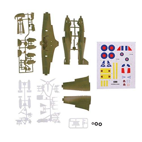 Perfk プラスチック 1:48スケール ヘリコプターモデル 飛行機モデル  の商品画像