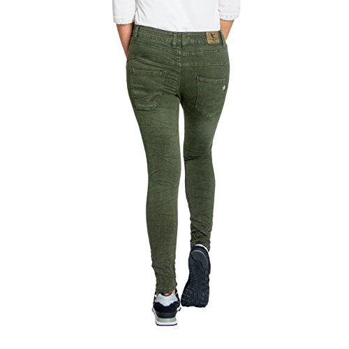 Skutari Donna Verde Jeans Jeans Skutari 16tWqwH1nr