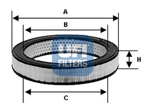 Ufi Filters 30.843.01 Air Filter: