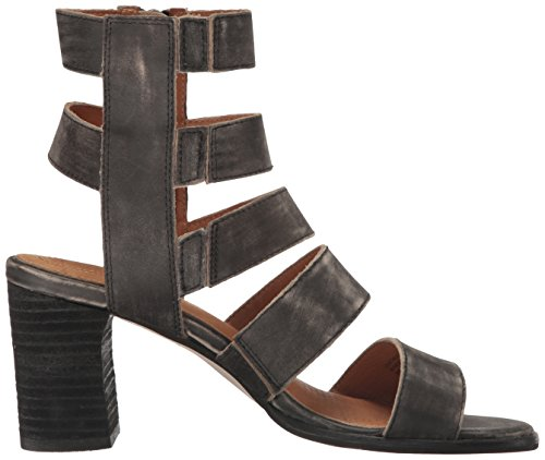Elise Leather Women's Sandal Corso Como Dress Worn Black SWfEqW1wag