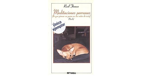 Meditaciones Perrunas: Lo Que Piensa Un Perro En Sus Ratos de Ocio: Novela: 9788480171663: Amazon.com: Books