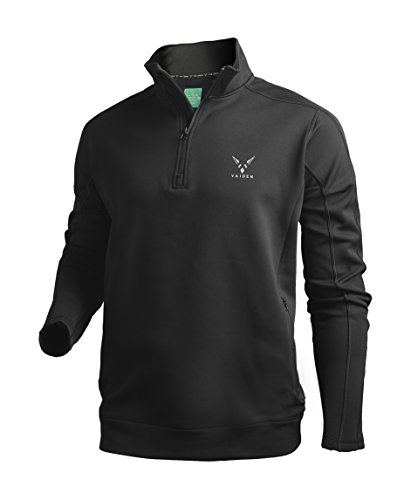 Vaiden Heliosphere - Men's 1/4 Zip Pullover With Patented Astronaut Technology (Medium)