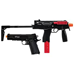 Walther Tac 6mm Airsoft Kit black