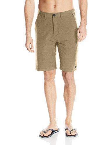 Billabong Men's Classic Hybrid Short, Gravel, 34 by Billabong