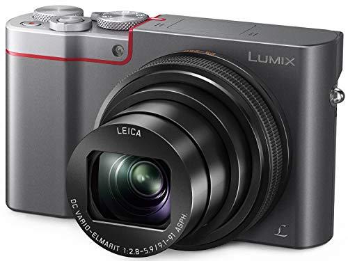 Panasonic LUMIX ZS100 4K Point and Shoot Camera, 10X LEICA DC VARIO-ELMARIT F2.8-5.9 Lens with Hybrid O.I.S., 20.1…