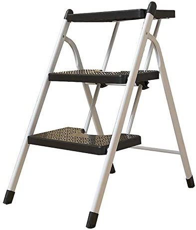 Echelle pliante Échelle Ménage Épaississement Chaise Pliante Chaise Escalade Escalier Intérieur Double Usage Escalade Escalade Intérieure Escabeau (Size : 2-tier)