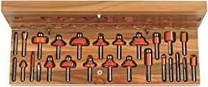CMT Orange Tools 900.003.00 - Estuche 26 fresas rectas y perfil. s 8 hw dx