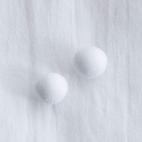 くるみボタン(トップくるみボタン) #BT185 1穴 10mm C/#WHITE ホワイト 2個セット