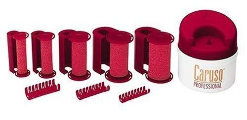 (Caruso SalonPro Molecular Steam Hairsetter-30 Rollers)