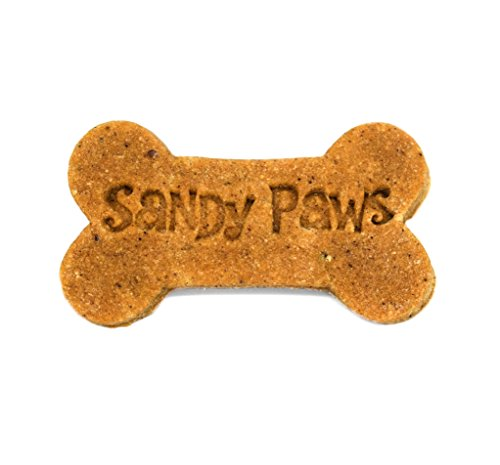 Sandy Paws Gourmet Dog Treats - Peanut Butter Dog Bones - Organic Cookie Gift Box (Butter Boxed Cookies)