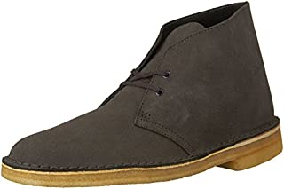 Clarks Men's Desert Chukka Boot, Charcoal Suede, 8 M US (B01AD194RU) | Amazon price tracker / tracking, Amazon price history charts, Amazon price watches, Amazon price drop alerts