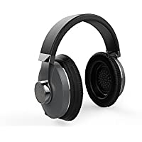 LTERIVER Excelsior T3 Superb Comfortable Wireless Bluetooth Headphones Compatible with APPLE iOS, Android OS and Windows OS Bluetooth with Excellent Sound-Grey