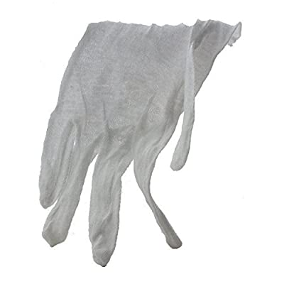 TRANSLINE Cotton Glove Lightweight for Handling Coins & Stamps, Large 12 Pair: Toys & Games