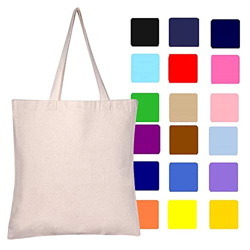 Canvas Tote Bag | 12 Pack | Heavy
