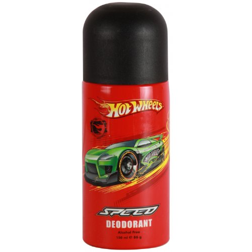 Hot Wheels Speed Alcohol Free Deodorant Body Spray For Boys - 150 ml / 5.07 Oz - 1 (Boys Spray)
