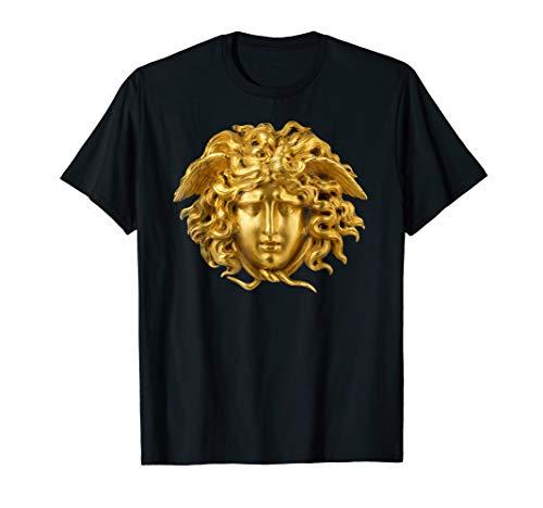 Medusa Head Shirt Snake Hair Greek Myth Gorgon