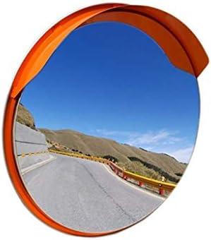 Geng カーブミラー 屋外の安全ミラー、防止交通事故、60センチメートル、丈夫なポータブル広角凸交差点ミラーを回します